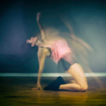 52499471 - modern hip hop dancer woman in motion blur